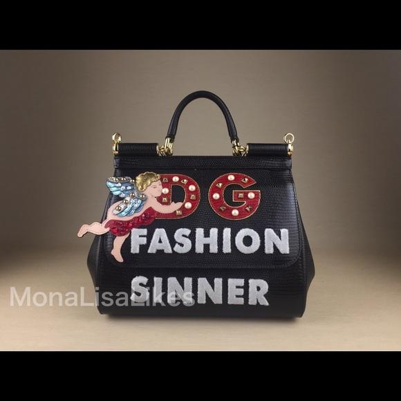 New DOLCE GABBANA Fashion Sinner Angel Sicily bag 0b4c901f7a571